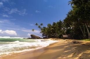 Beach, near Galle