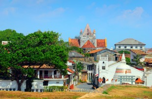 View across Galle Fort, a UNESCO World Heritage Site  copy